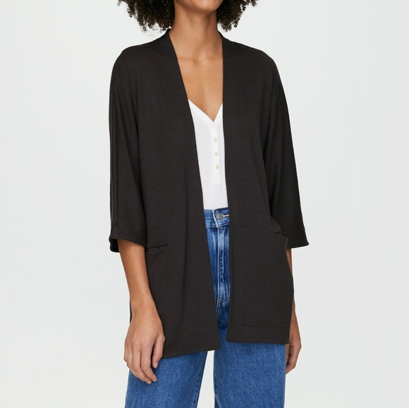 Wilfred Free Zlata sweater open front cardigan